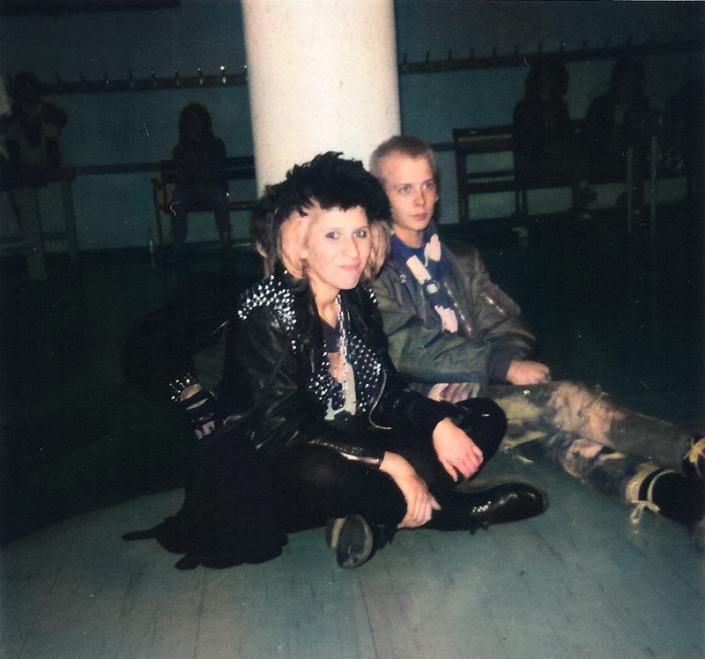 Liz and Tony Börjesson 1986