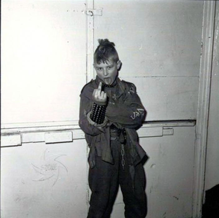 12 year old Mickey 1982 Amsterdam