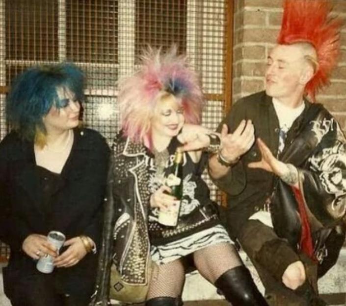 Sue - Michelle and Stuart 1984 London